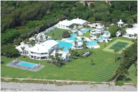 Tiger Woods Jupiter Island Florida