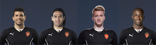 puma football stars
