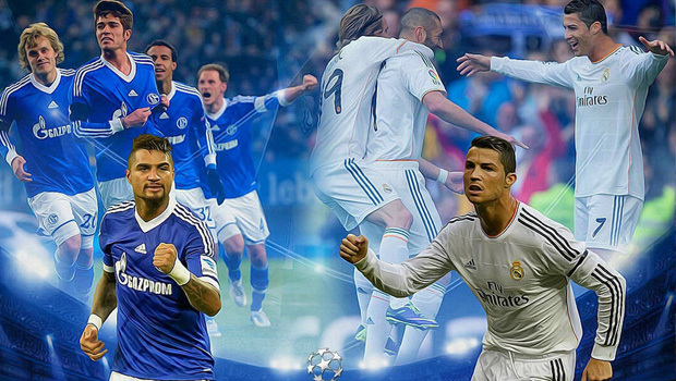 champions league real schalke