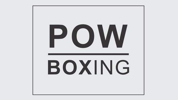 POW BOXING logo final
