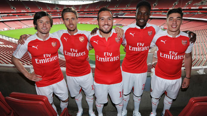 2015/16 Arsenal Home Kit