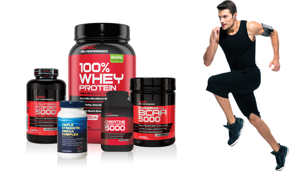 GNC'S REST AND RECOVER SUPPLEMENTS FOR FAST RESULTS - The