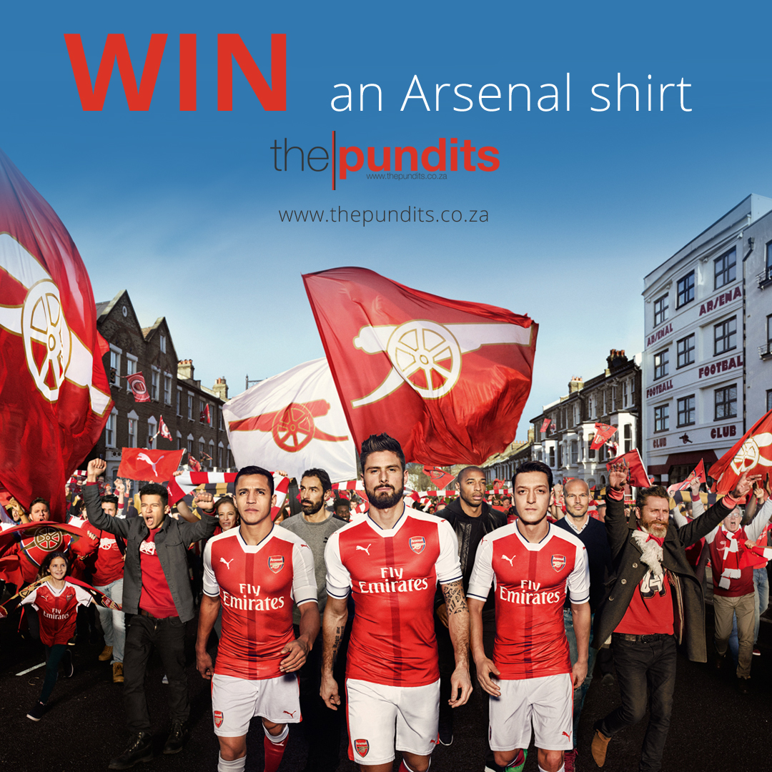 Win an Arsenal Shirt With The Pundits