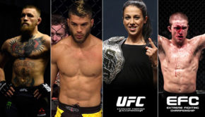 The biggest weekend in MMA history
