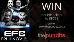 Win tickets to EFC55