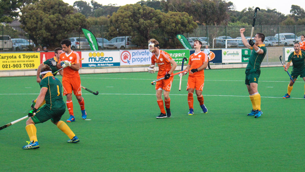 SA Hockey Men vs Holland