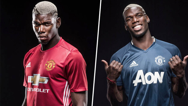 Paul Pogba Shirt Sales