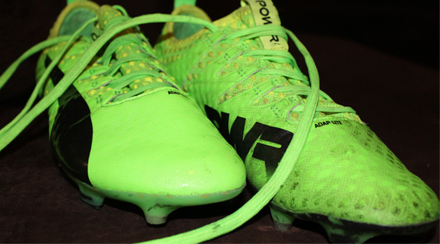 Clean Football Boots