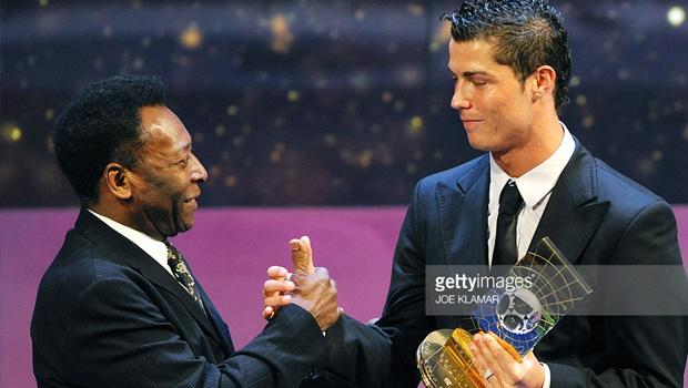 Pele and Ronaldo