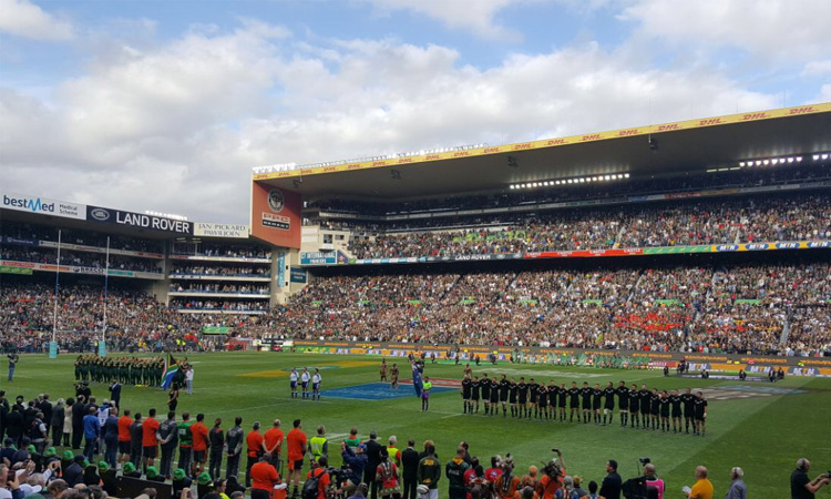Springboks vs New Zealand