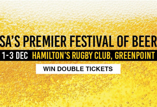 Win Tickets to the Cape Town Festival of Beer