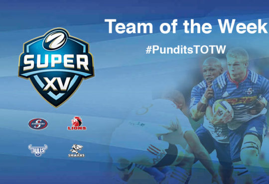 Super Rugby Team of the Week