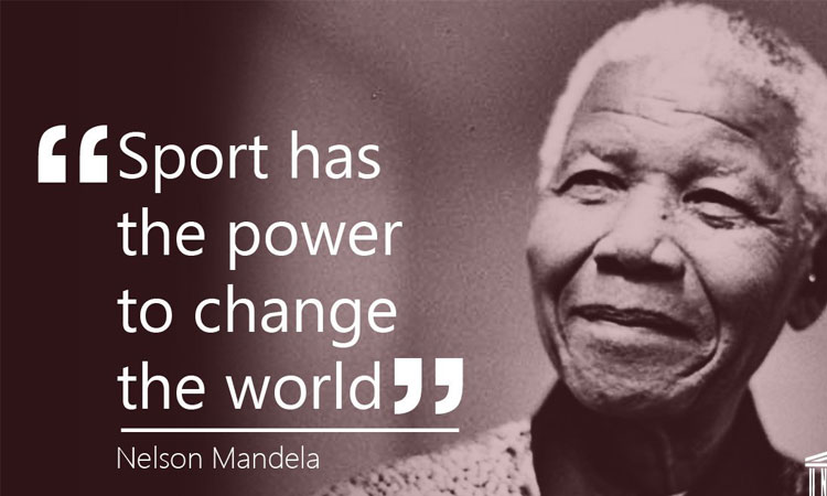 Sport has the power to change the world