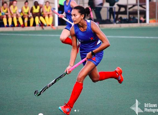 Quanita Bobbs in action for Western Province at the 2018 IPT