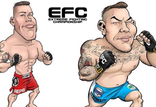 Drotschie Brothers at EFC 72