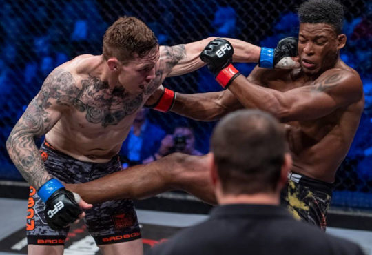 Gideon Drotschie Reacts After Debut Middleweight Victory