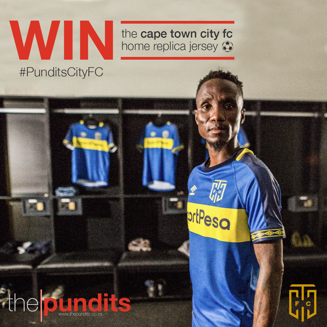 Cape Town City Replica Jersey Competition with The Pundits South African Sport Blog