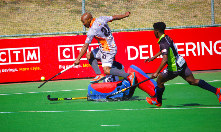 Julian Hykes at the Premier Hockey League 2018