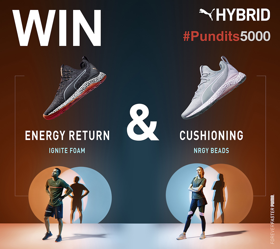 PUMA Hybrid Runner The Pundits Giveaway