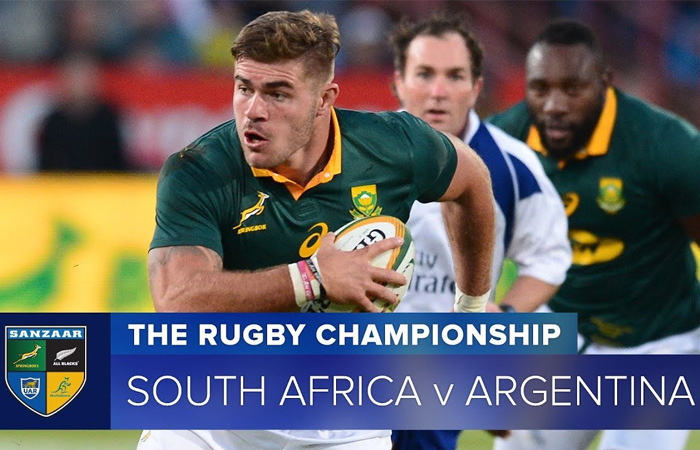 South Africa vs Argentina Rugby Championships