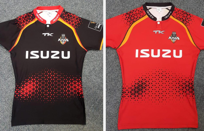 Southern Kings home and away Rugby Jersey