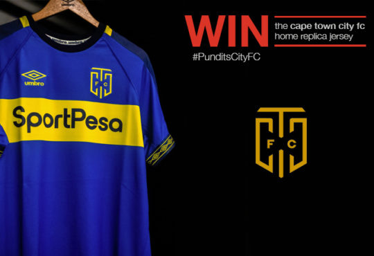 Win the Cape Town City FC Replica Jersey