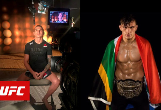 Don Madge UFC Debut