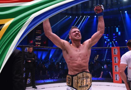 Dricus du Plessis KSW Champion