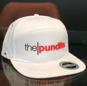 The Pundits Flat Peak Snap Back