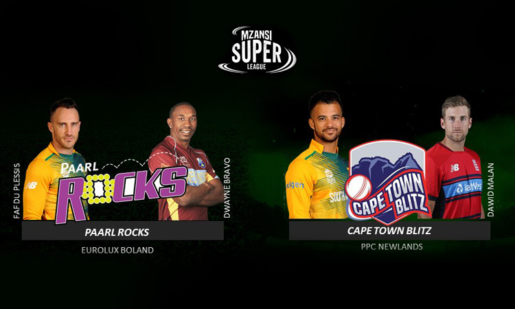 Paarl Rocks and Cape Town Blitz