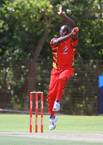 Kagiso Rabada at the Coca Cola T20 Schools