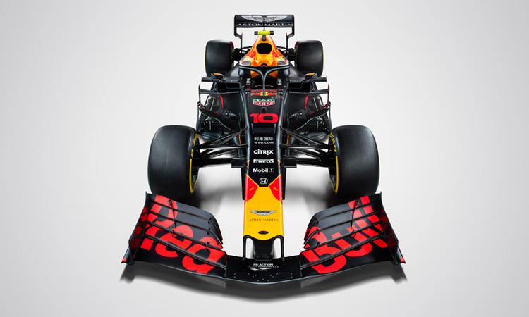 Aston Martin Red Bull Racing Car