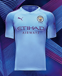 Manchester City Home Kit by Puma