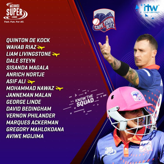 Cape Town Blitz Squad