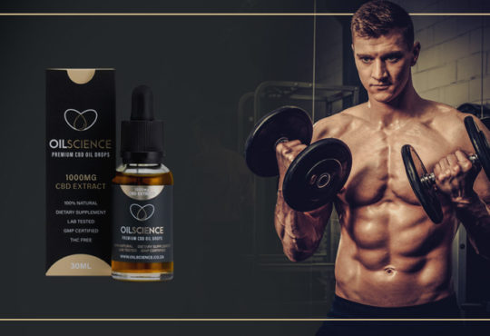 OilScience CBD Oil For Athletes