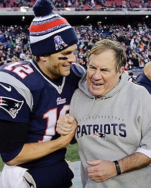 Tom Brady and Bill B