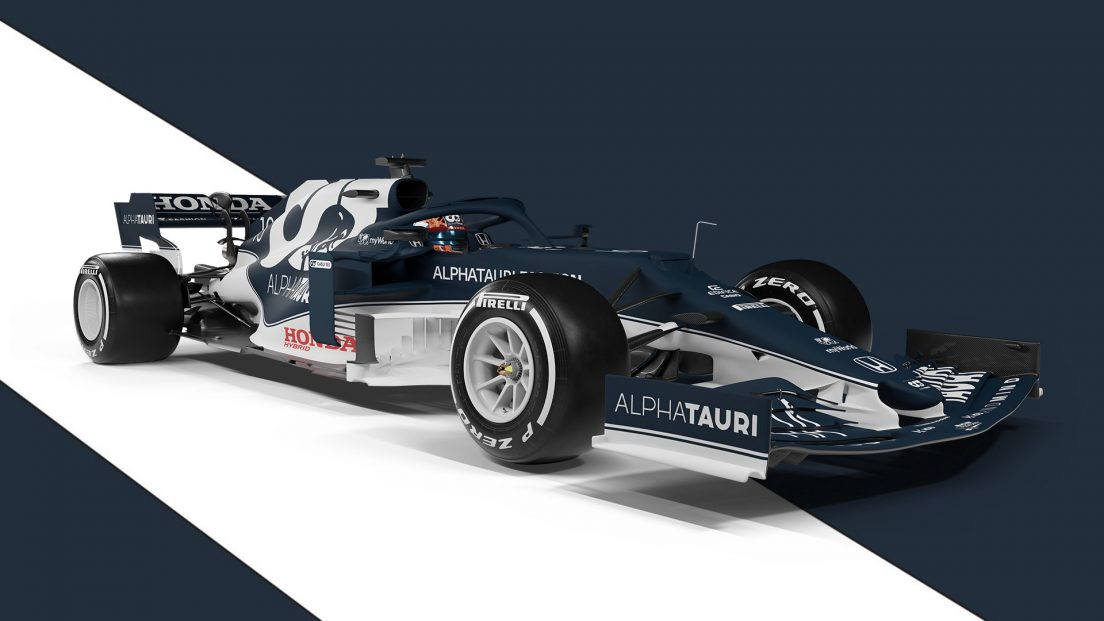 AlphaTauri F1 Car 2021